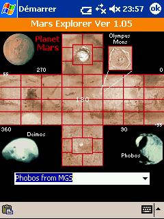 LOGICIELS ASTRONOMIE Mars