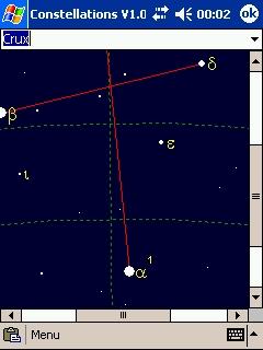 LOGICIELS ASTRONOMIE T_crux