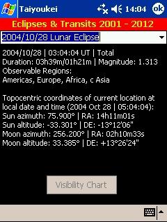 LOGICIELS ASTRONOMIE T_eclipse