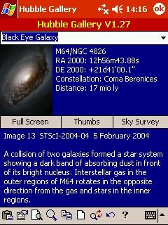 LOGICIELS ASTRONOMIE T_hubble