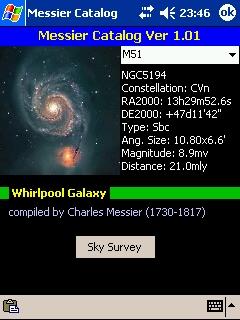LOGICIELS ASTRONOMIE T_m51