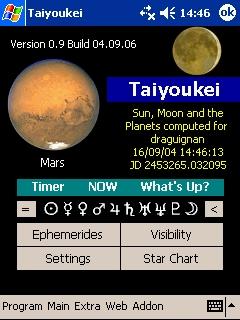 LOGICIELS ASTRONOMIE T_mars