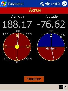 LOGICIELS ASTRONOMIE T_objet_moniteur