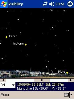 LOGICIELS ASTRONOMIE T_visibilty