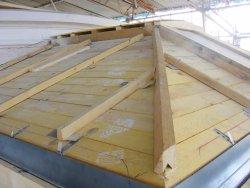 Tvx edicule poutre for Edicule toiture terrasse