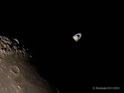 Ocultación de Saturno, Etienne Bonduelle