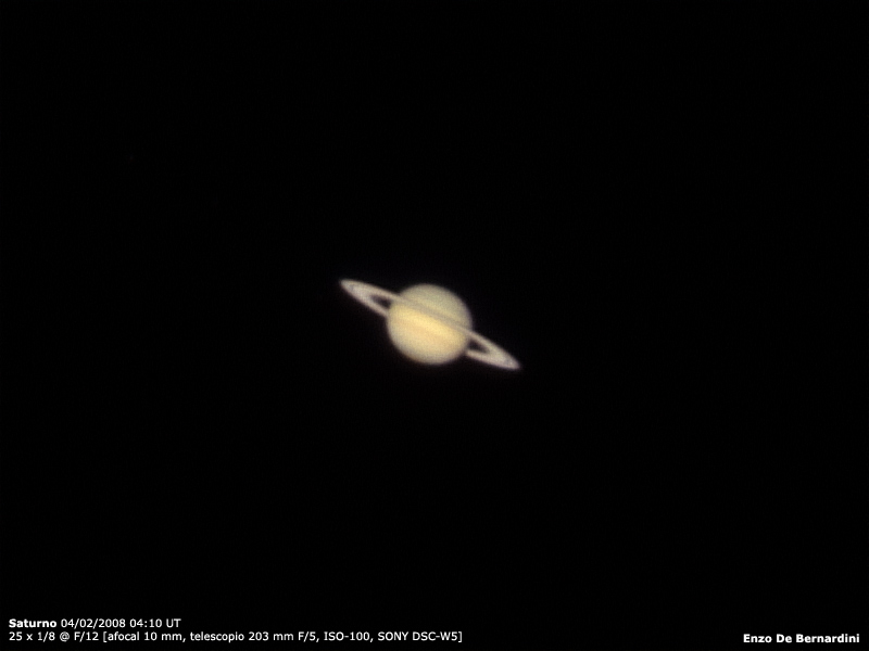 Saturno 04 02 2008 Astronom 237 A Sur
