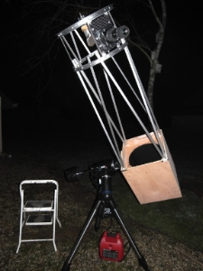 Astrotrek astronomie photographie for Miroir cassegrain