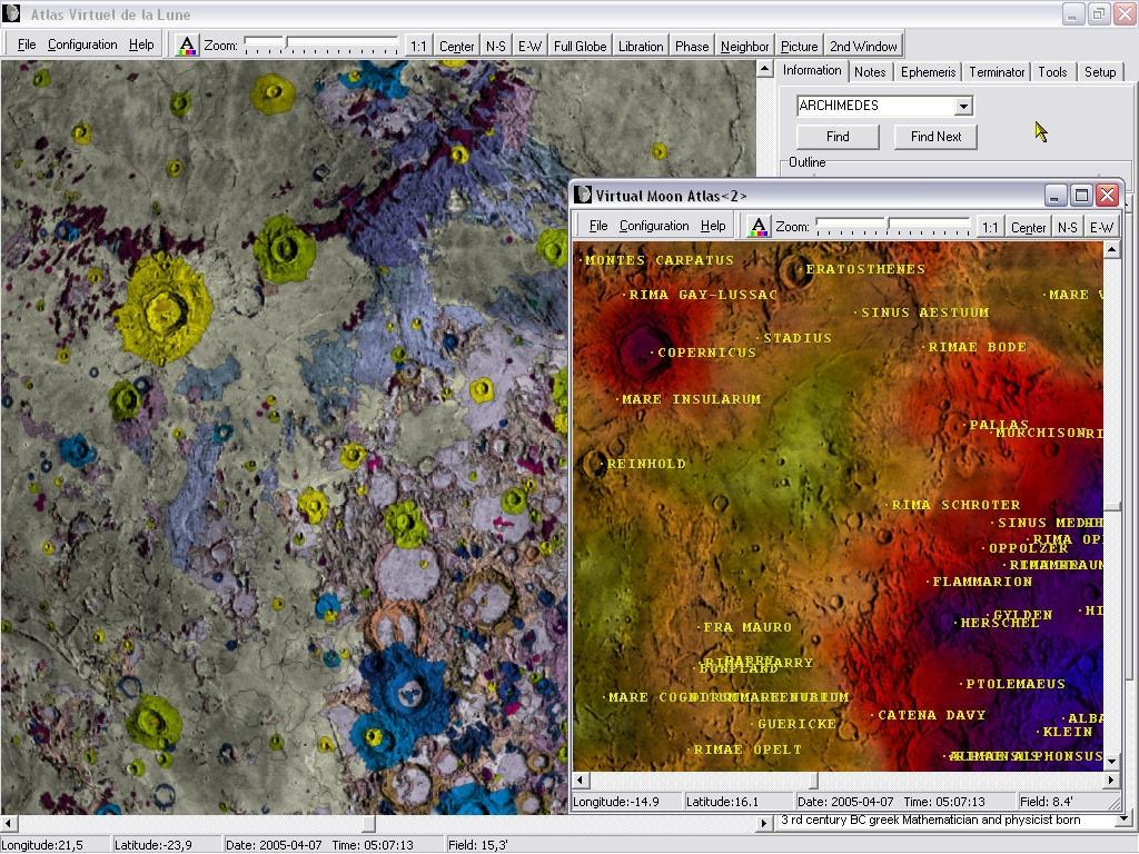 Virtual Atlas of the Moon / Documentation