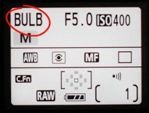 Pose Bulb piloté par PC impossible ? Bulb
