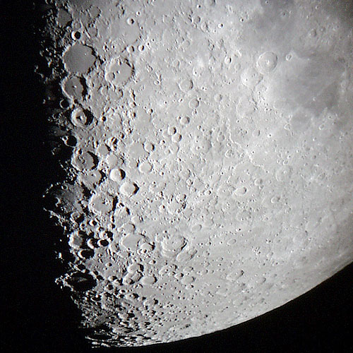 Observation of the MOON part