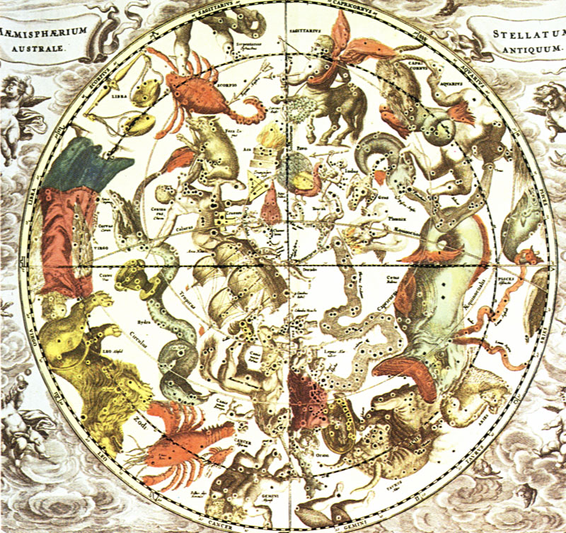Les 88 Constellations Du Ciel Sont En Quelques Sortes