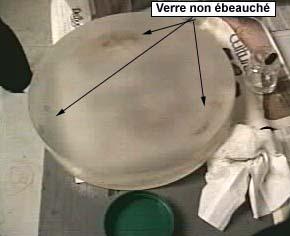 Marquage d 39 un point au centre du miroir etendage de l for Disque en miroir