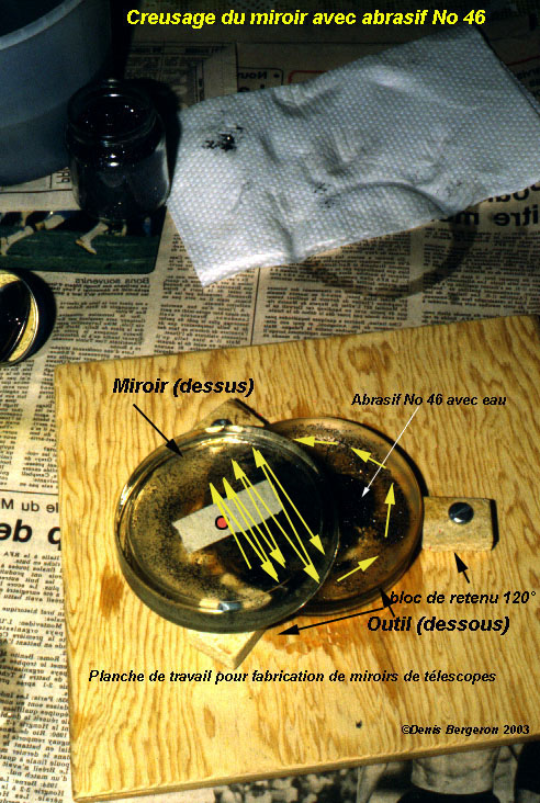 Aspect de l 39 abrasif 46 for Fabrication miroir