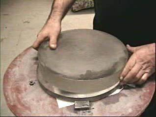 Disque qui deviendra le miroir plac dessus l 39 outil for Fabrication miroir