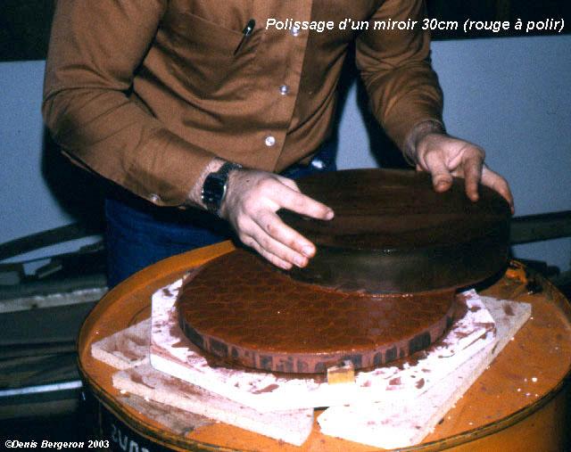 Polissage for Fabrication miroir