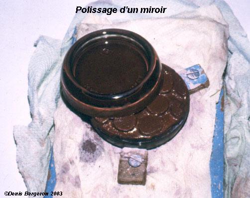 Fabrication d 39 un polissoir for Fabrication d un miroir