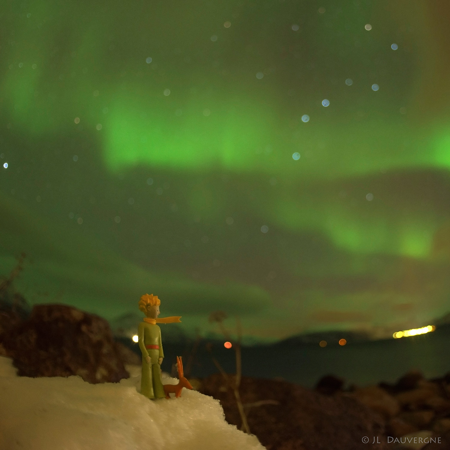 time lapse video the little prince and the northern lights the little prince and the aurora