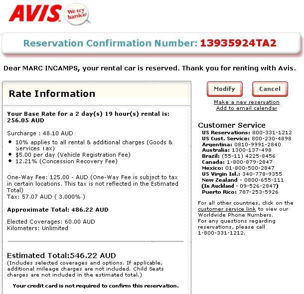 Dollar Rent A Car Reservations Avis Cancel Reservation