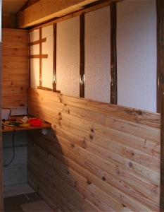 Observatoire am nagement int rieur for Habillage mur interieur en bois