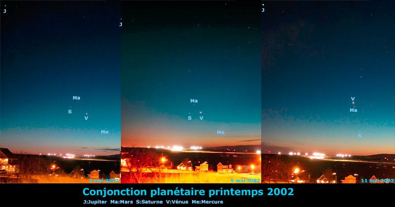 Grande conjonction planétaire 2002