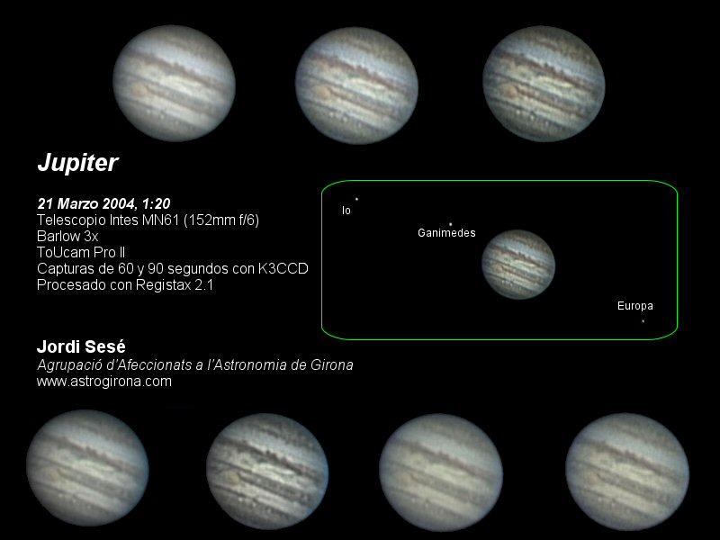 Astrofotografía - planetas