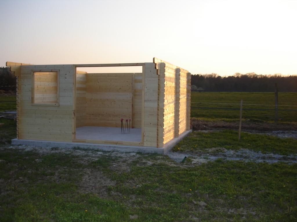 Construcción de la caseta de madera modelo Valodrak