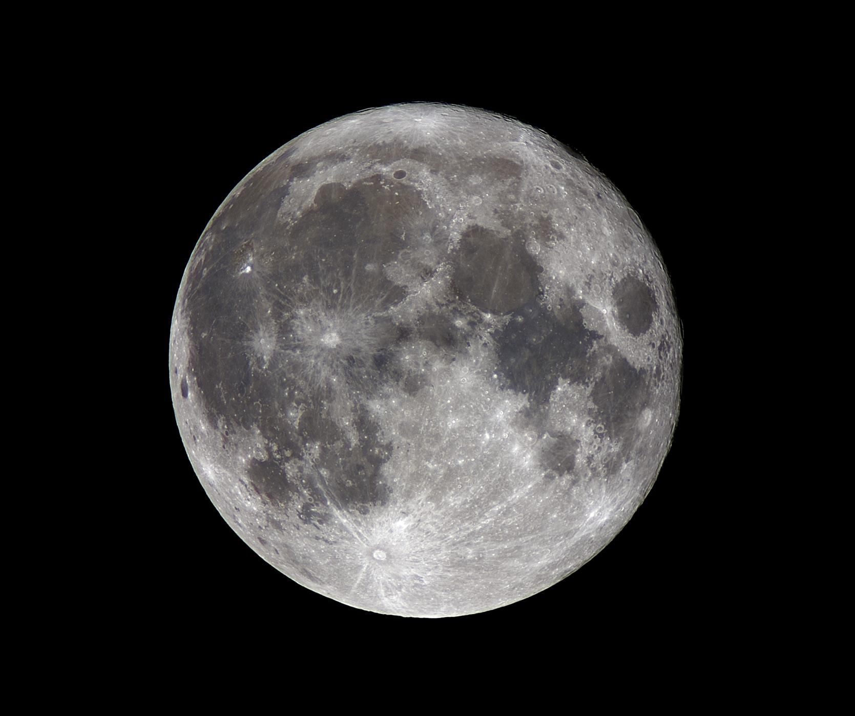 photographier la lune avec un reflex