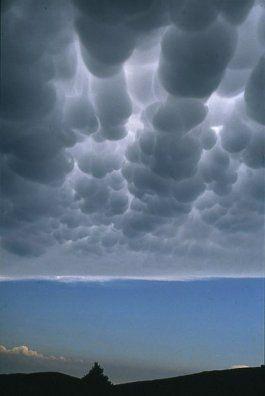 السحب و أنواعها Ac-mamma