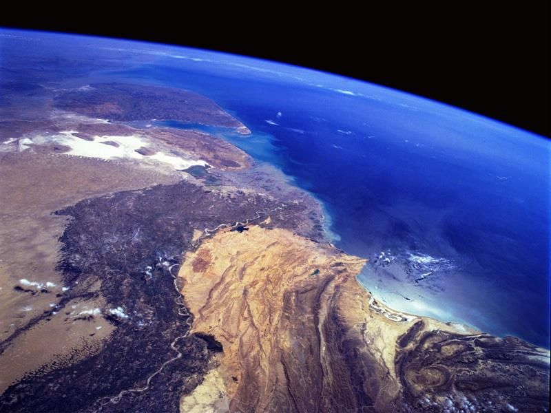 satellite vu de la terre
