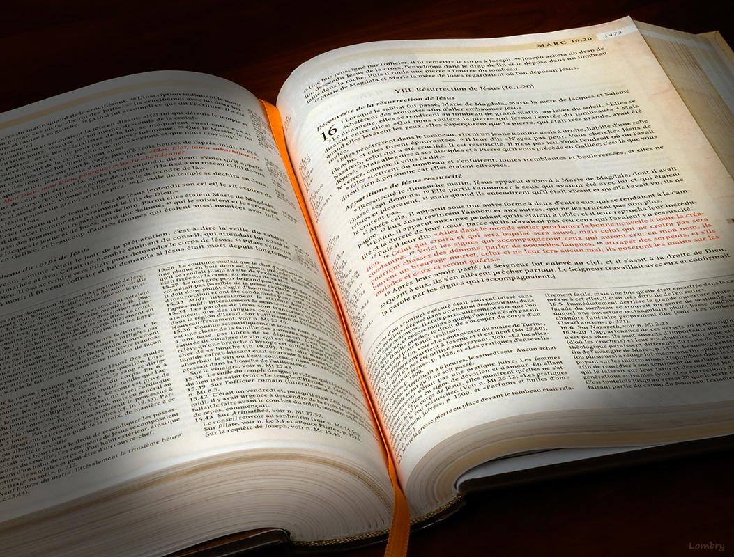 la bible commentée selon louis segond