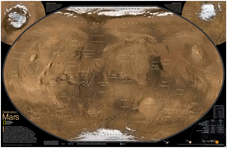 Google Solar Map >> Les oppositions de Mars - Description et photographie