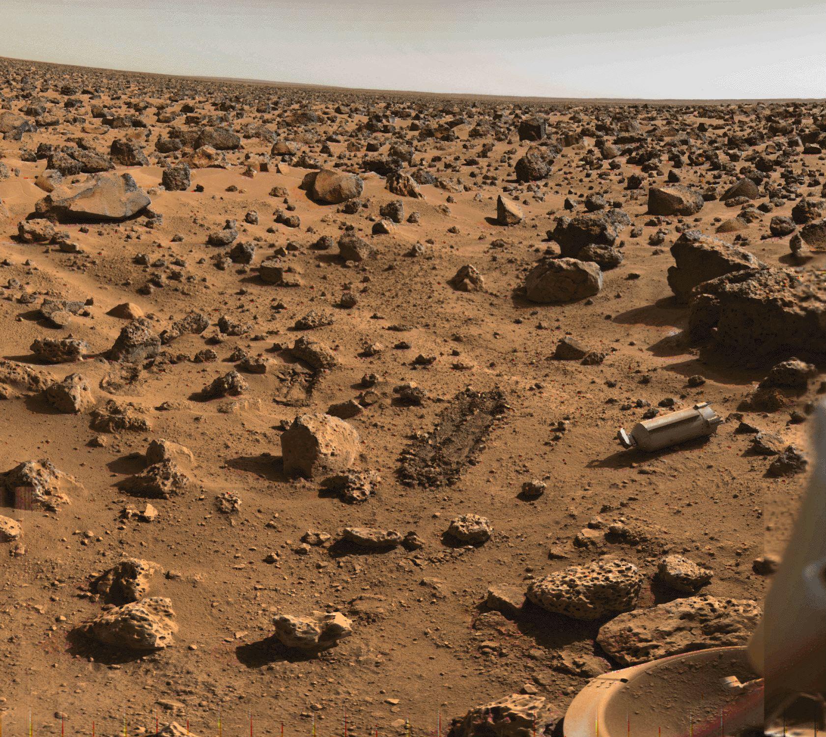 Compendium du système solaire - Mars