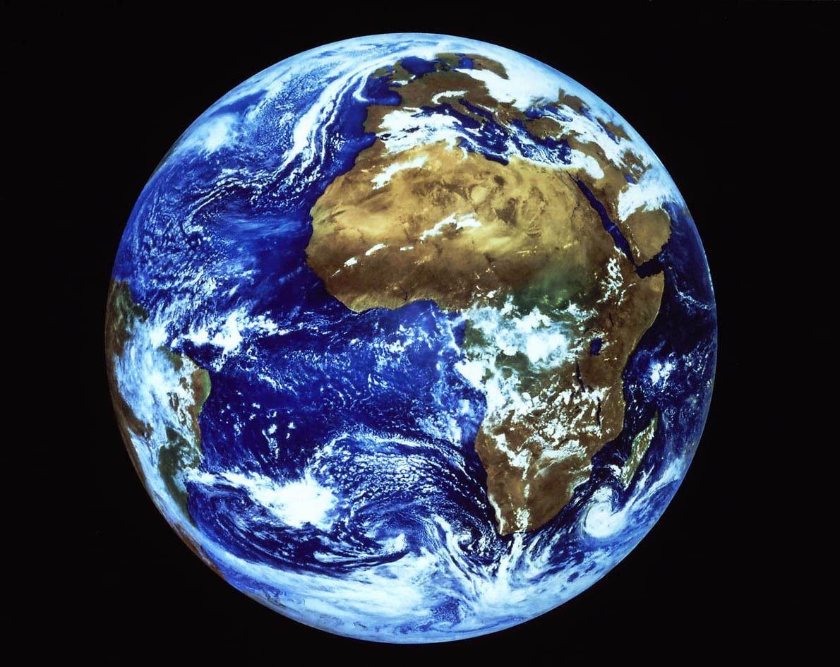 La terre , berceau de l'humanité