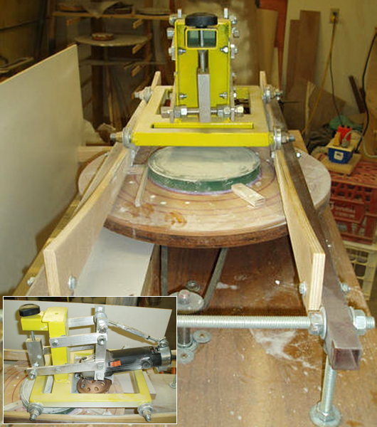 La fabrication d 39 un miroir de t lescope for Fabrication de miroir