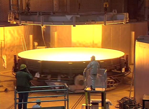 La fabrication du disque brut d 39 un miroir for Fabrication miroir