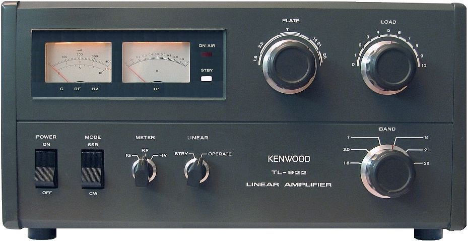 Kw amateur amplifier messages