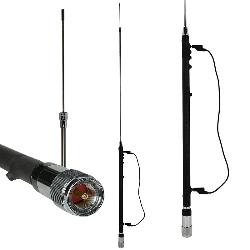 Portable amateur vertical antennas