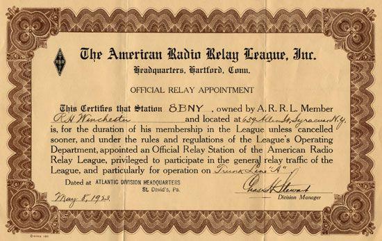 The history of amateur radio - 6