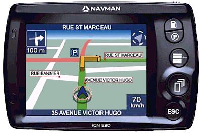 carte pour gps navman