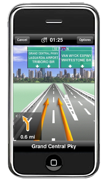 carte gps usa iphone