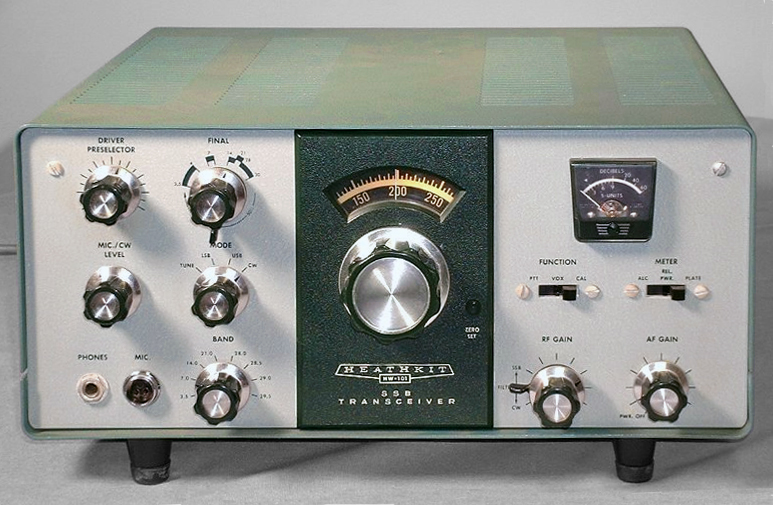 ... two traditional tube-type SSB transceivers.