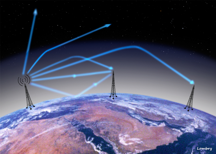 How Far Can Radio Waves Travel Through Space