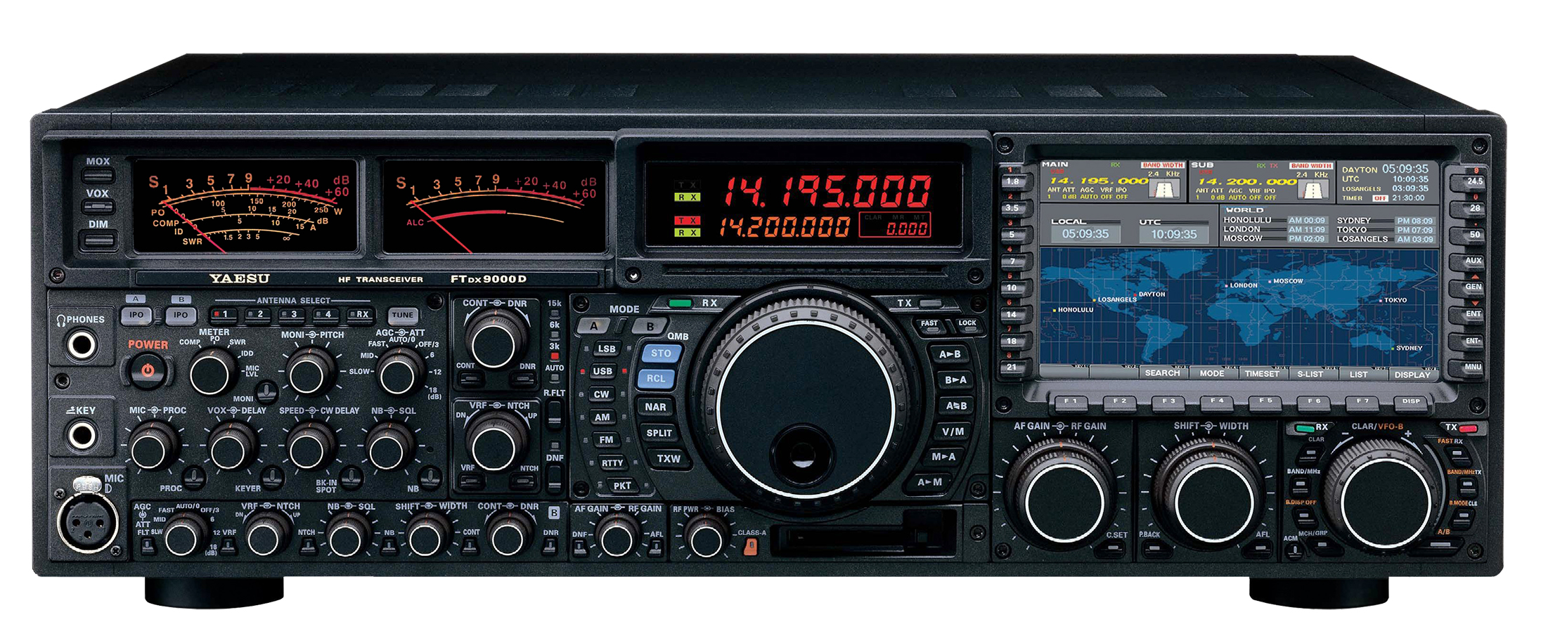 It seems that Yaesu received the message : their FT-DX9000 ...