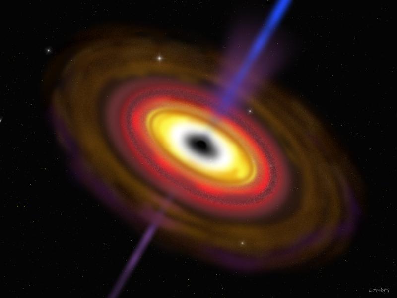 black hole accretion - photo #7