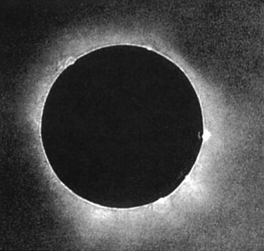 2d4a1dbb314a9c A gauche, quand le Soleil épouse la Lune. Dessin de J.Grandville publié en  1844 dans son livre