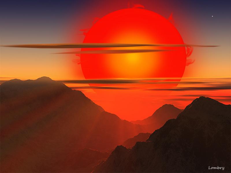 Une fa on de vivre propre aux toiles le cr puscule de - L heure du coucher du soleil aujourd hui ...