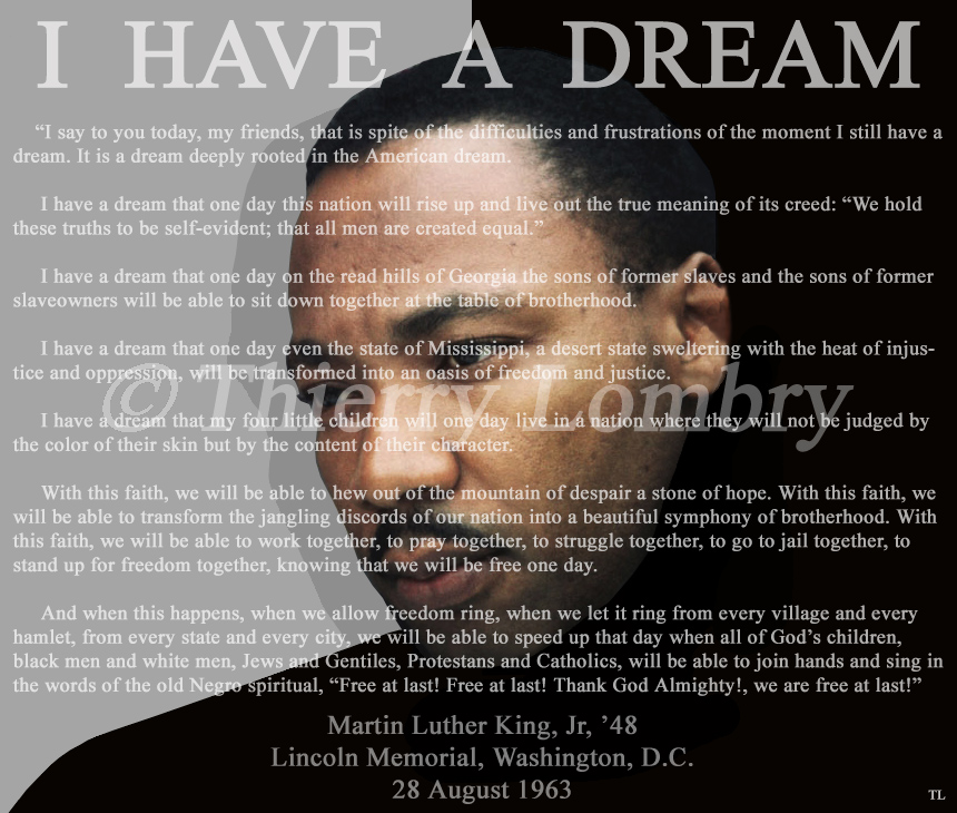 J Ai Fait Un Rêve Martin Luther King