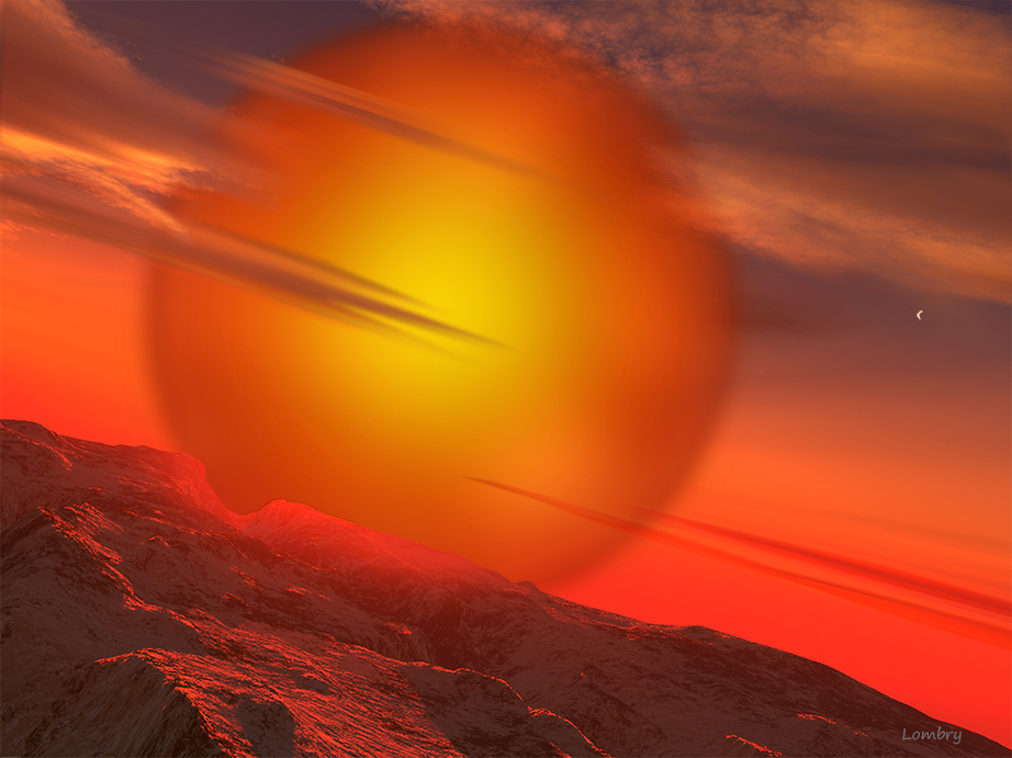 red giant sun - 922×691