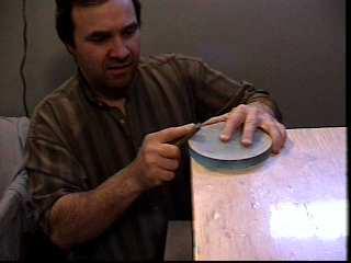 S ance de creusage de miroirs chez jacques lech for Fabrication d un miroir